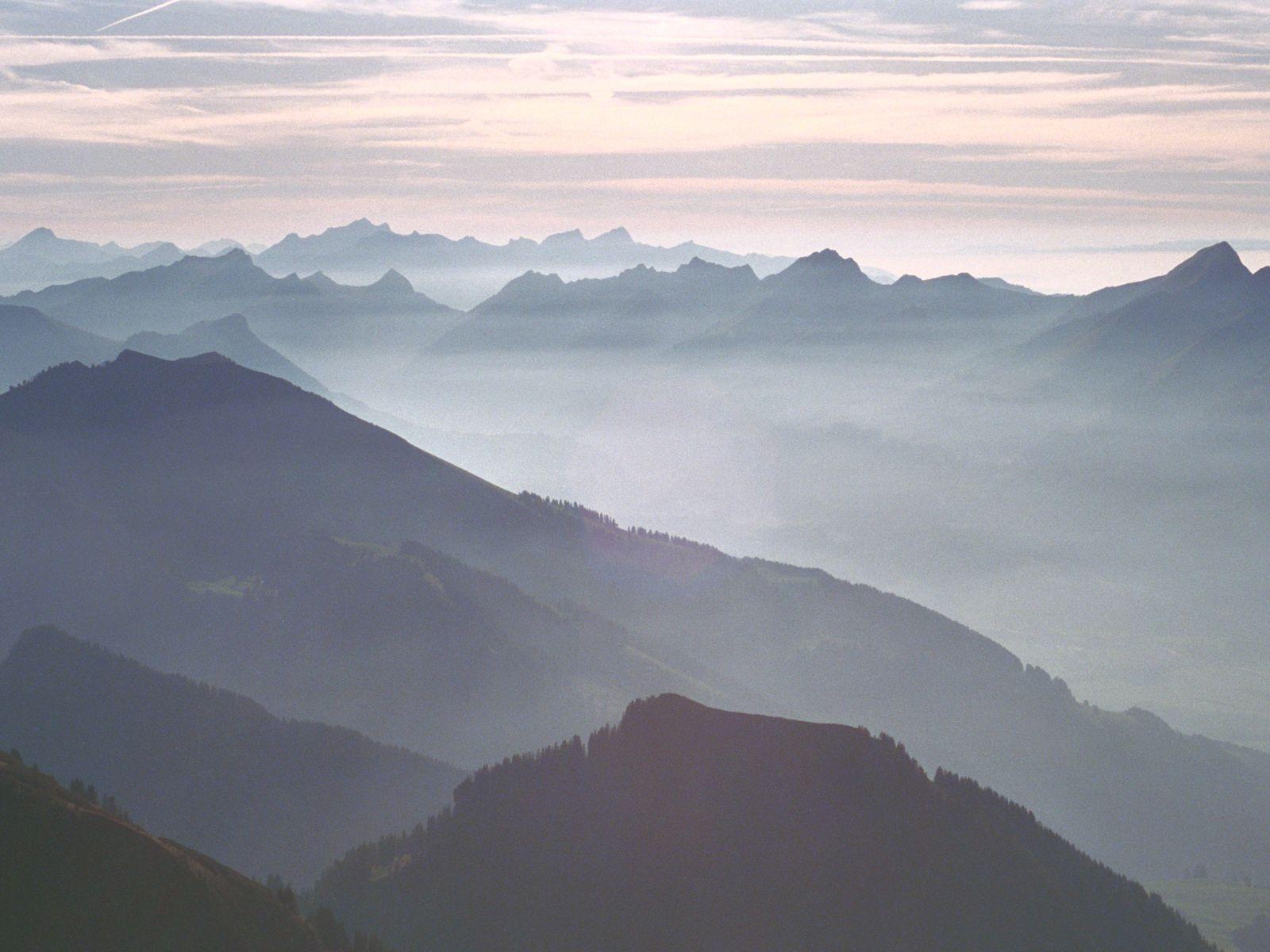 Mountain Fog wallpaper – wallpaper free download