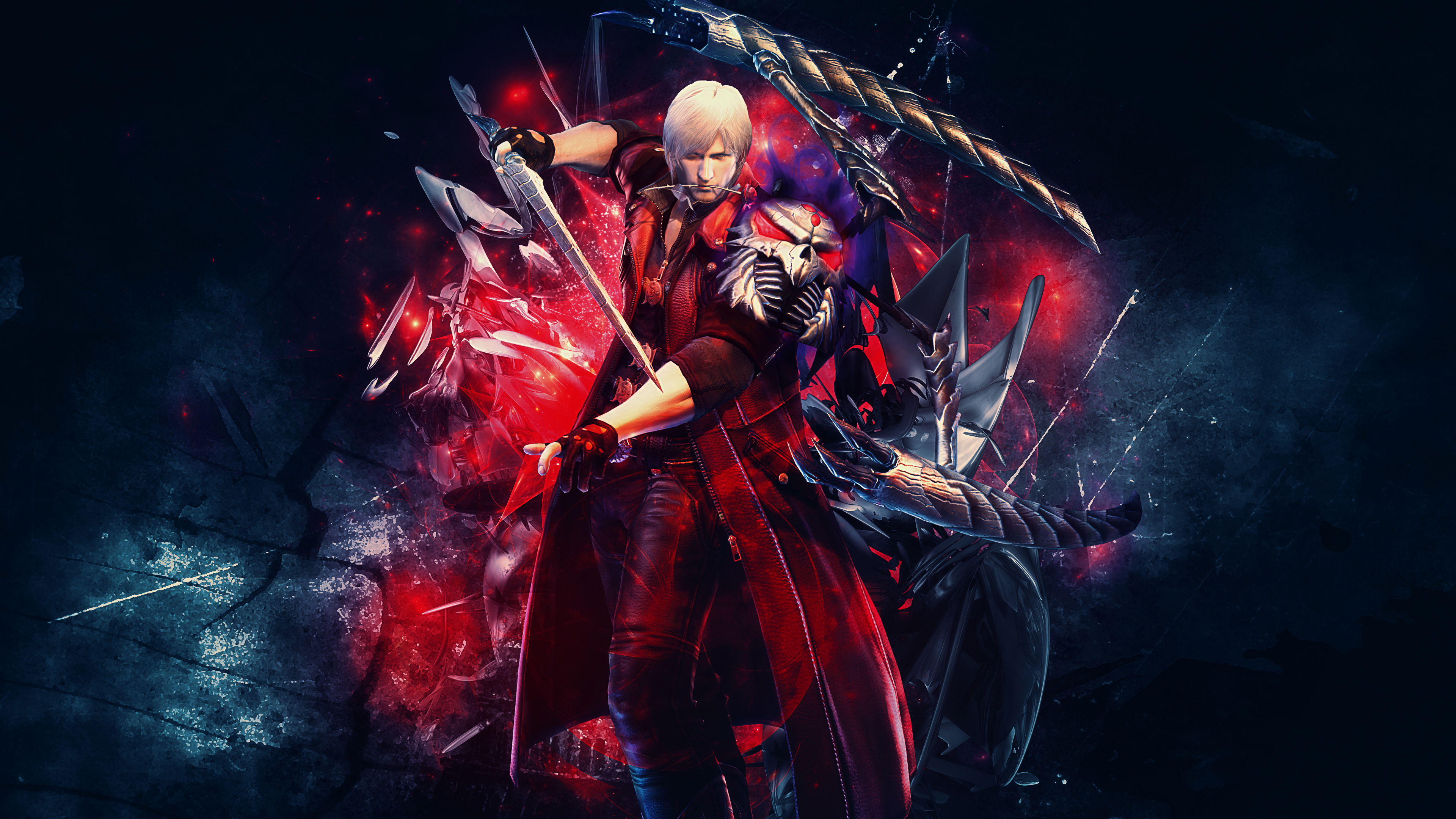 Free Download Devil May Cry 4 Special Edition Dante 4k Wallpaper