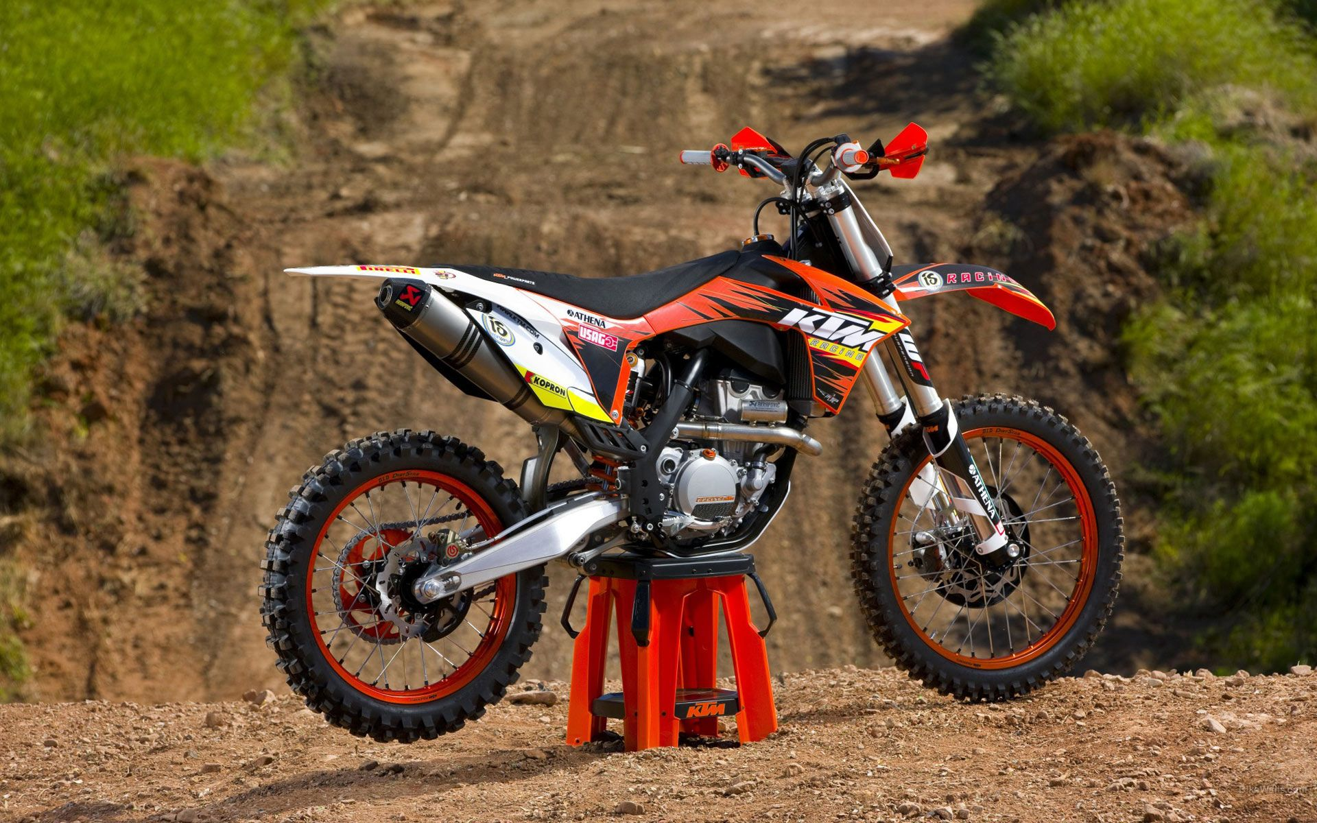 Wallpaper motocross ktm wallpapersafari - Moto crosse ktm ...