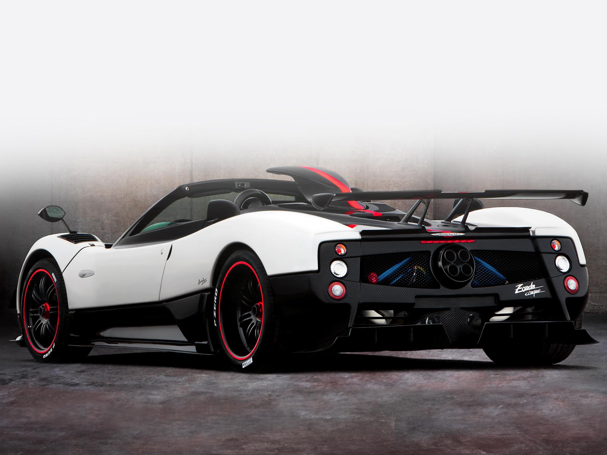 2009 Pagani Zonda Cinque Roadster supercar supercars f wallpaper ...