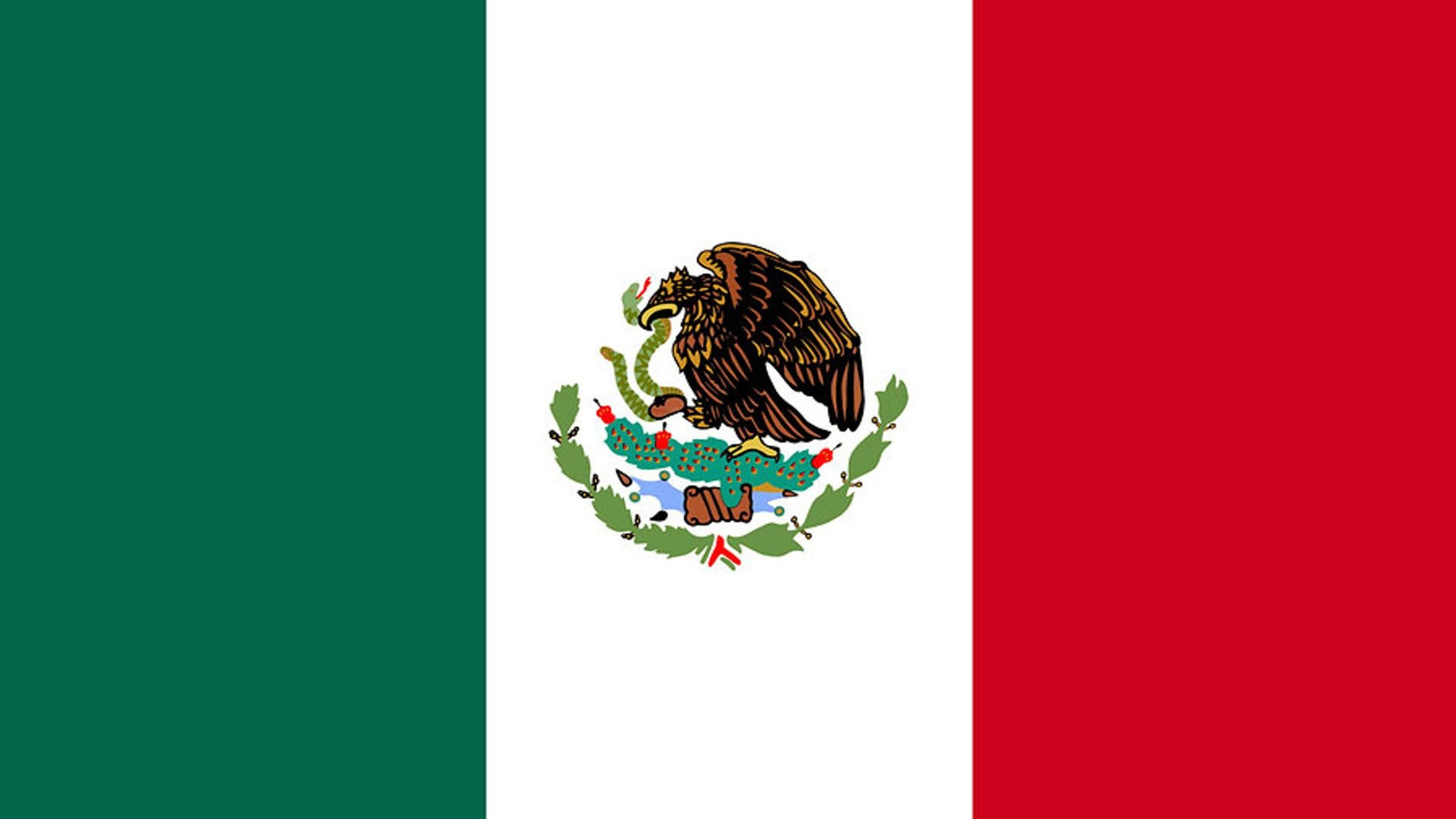 mexico flag wallpaper desktop