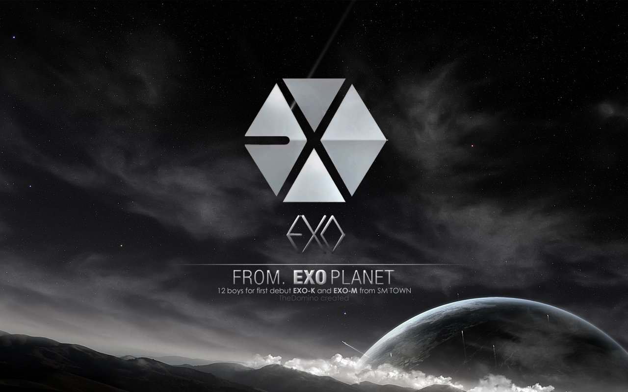 Exo wallpaper hd wallpapersafari - Exo background ...