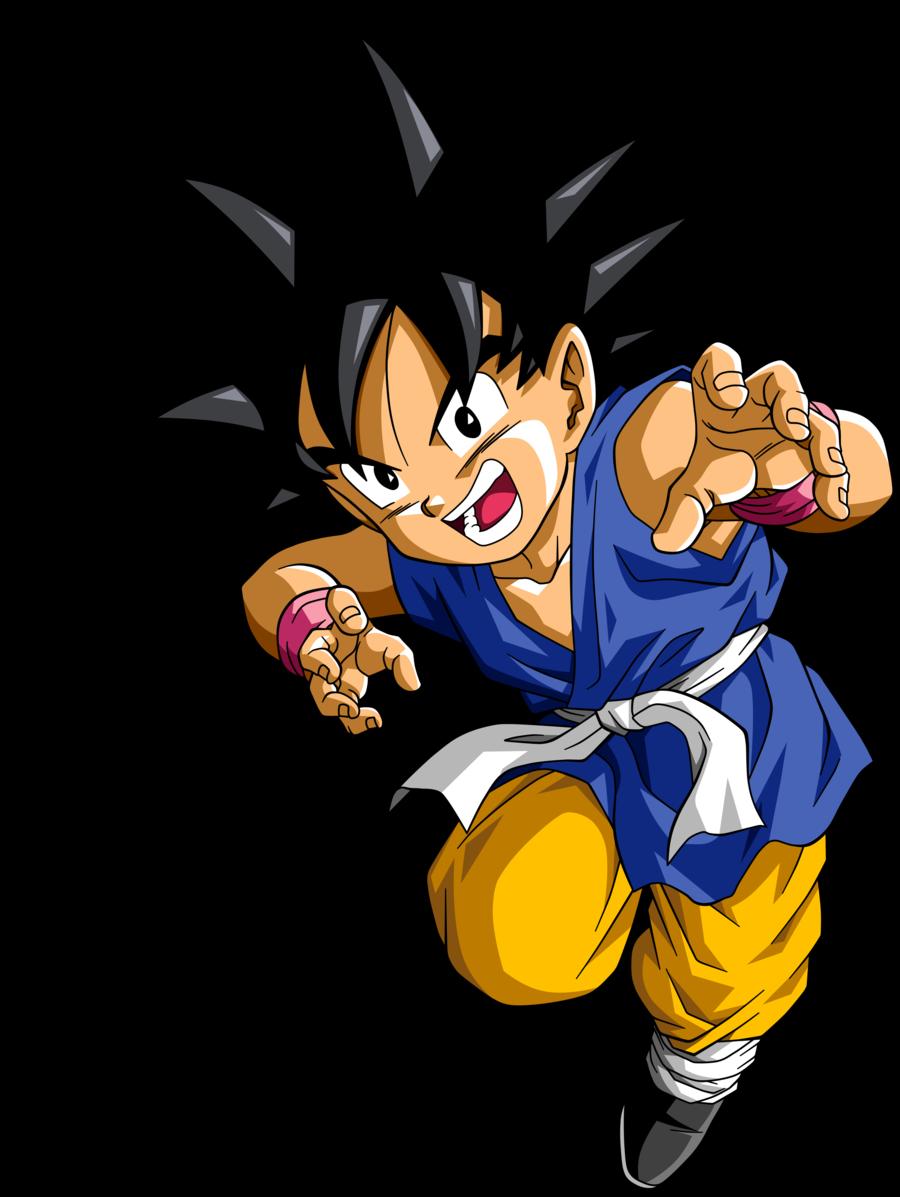 Dragon Ball GT Son Goku by Krizeii 900x1197