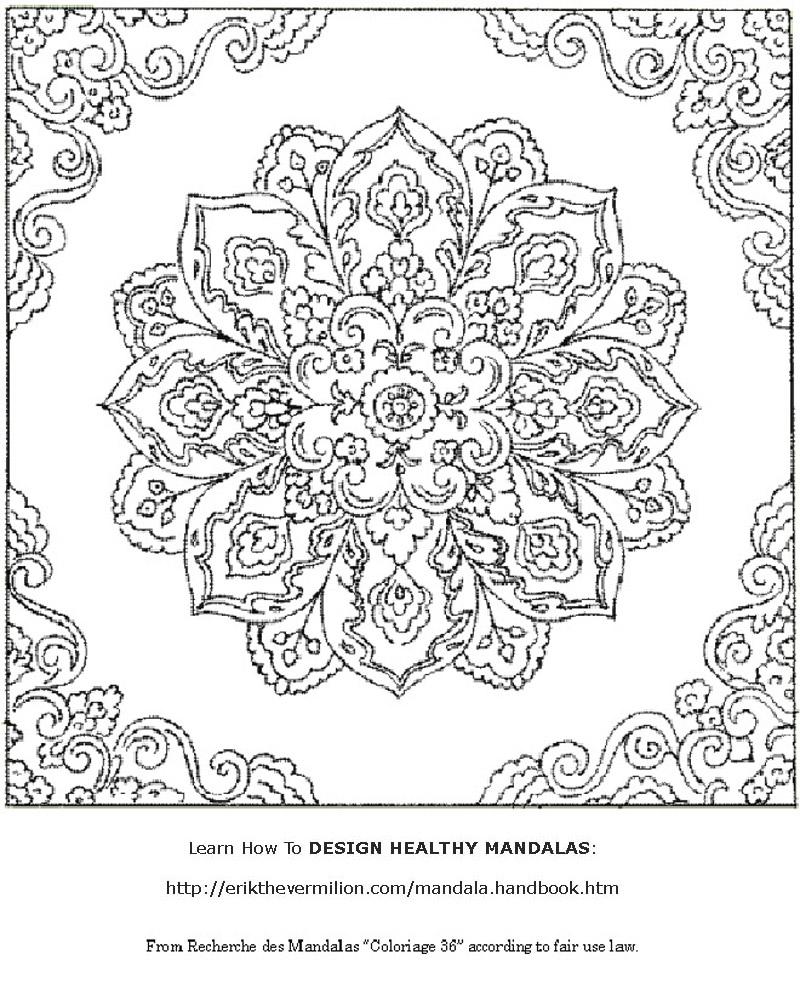 Free thanksgiving mandala coloring pages - Free Printable Mandala Coloring Pages Adults