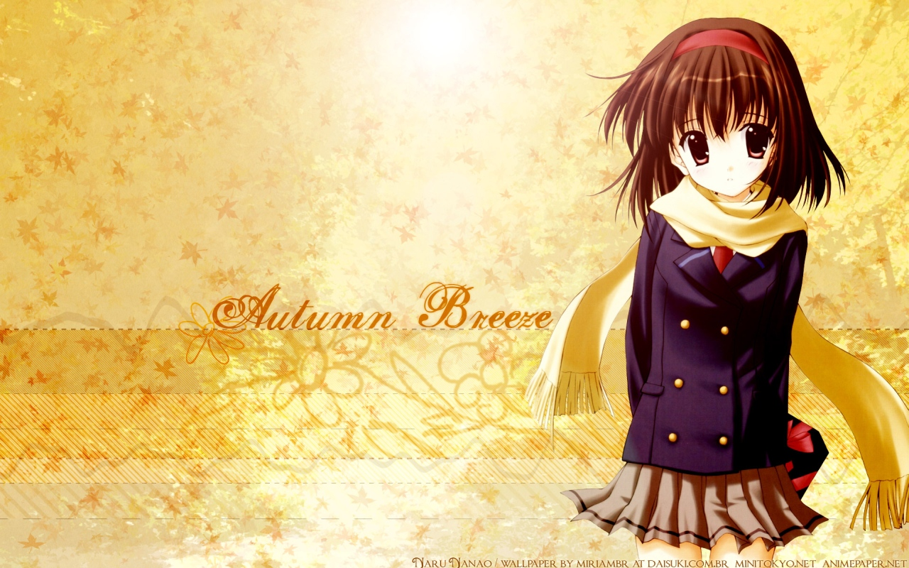 800 Wallpapers Wallpaper 9610 1 other anime anime autumn anime girls 1280x800