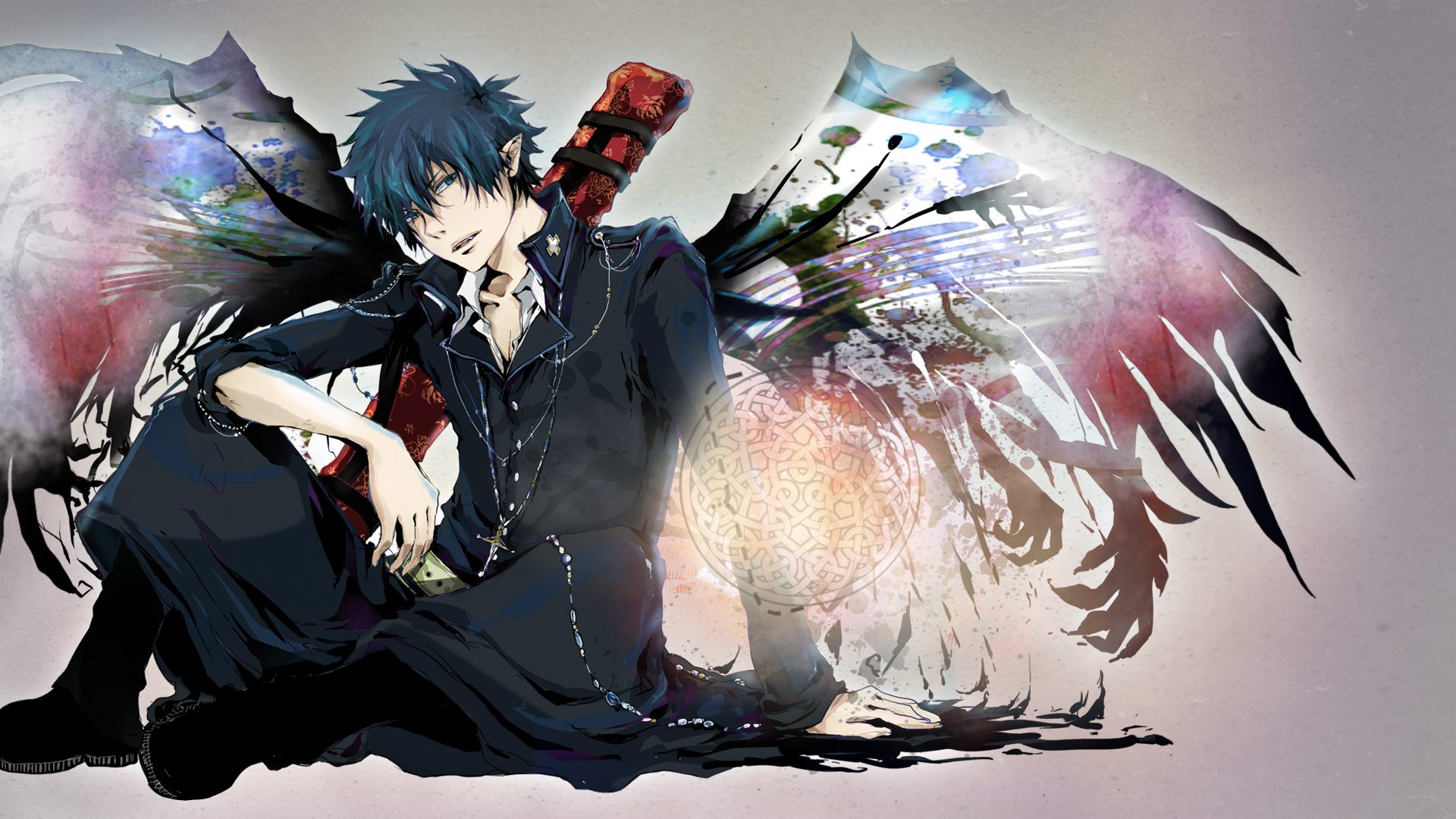 epic blue exorcist wallpaper - photo #40