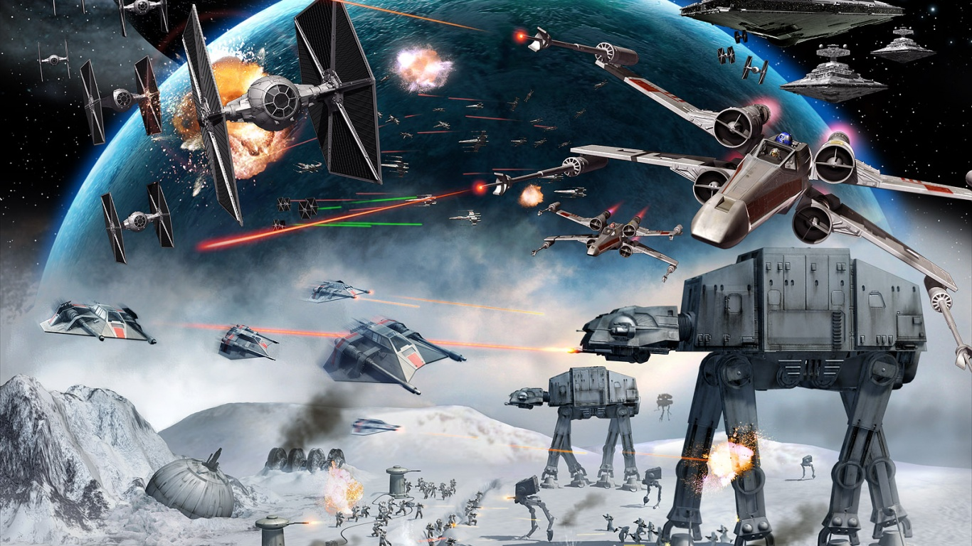 1366x768 Star Wars Empire at War desktop PC and Mac wallpaper 1366x768