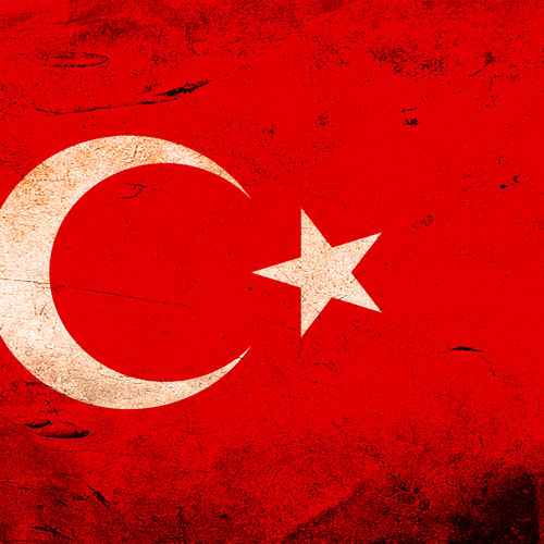 HD Turkey Flag Wallpaper 500x500