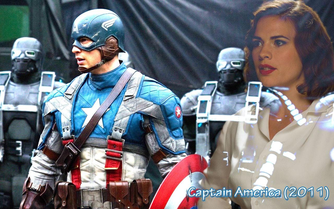 Captain America Screensaver 1280x800