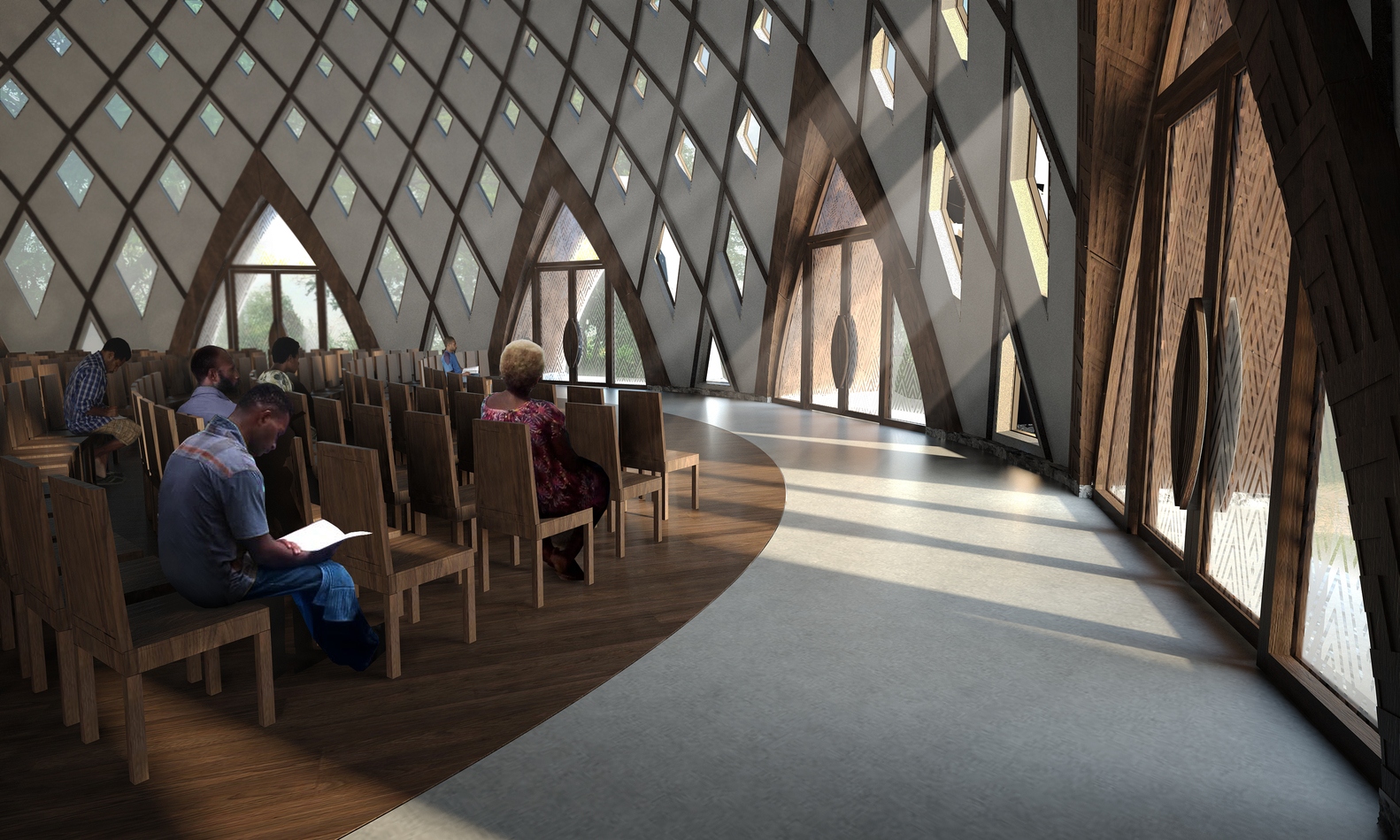 Gallery of Images Released for Bah House of Worship in Papua 1582x949