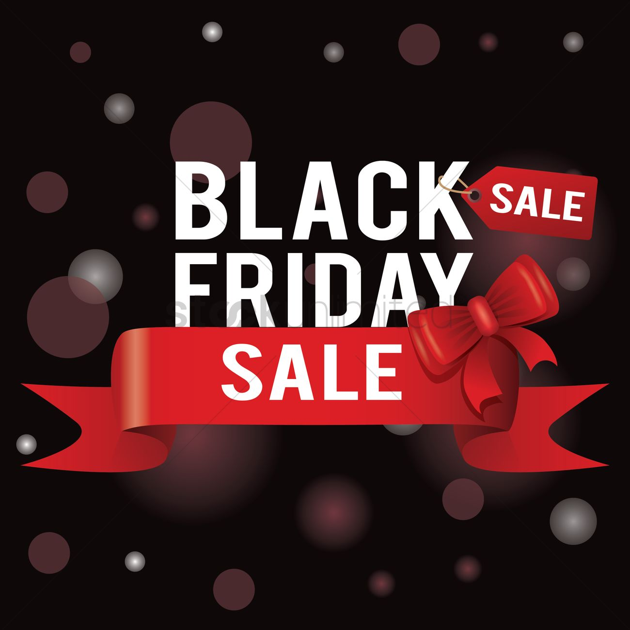 Black friday sale wallpaper Vector Image   1583200 StockUnlimited 1300x1300