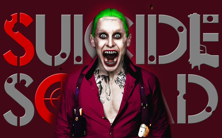 Suicide Squad Joker HD Wallpaper Movie Wallpaper Pinterest 736x460