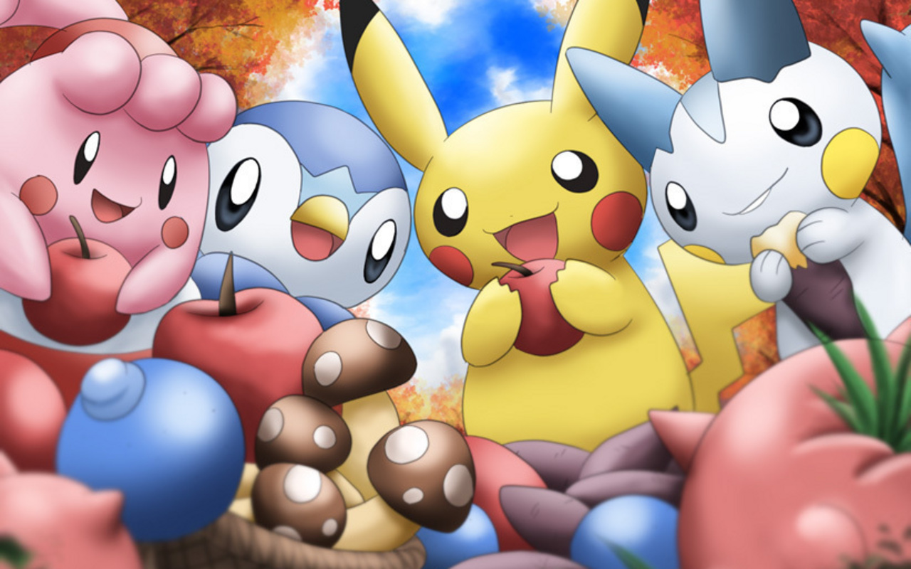 Free Download Pokemon Hd Wallpapers 1280x800 For Your Desktop