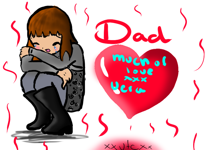 dad i miss you by xXVeraTheCatXx 729x527
