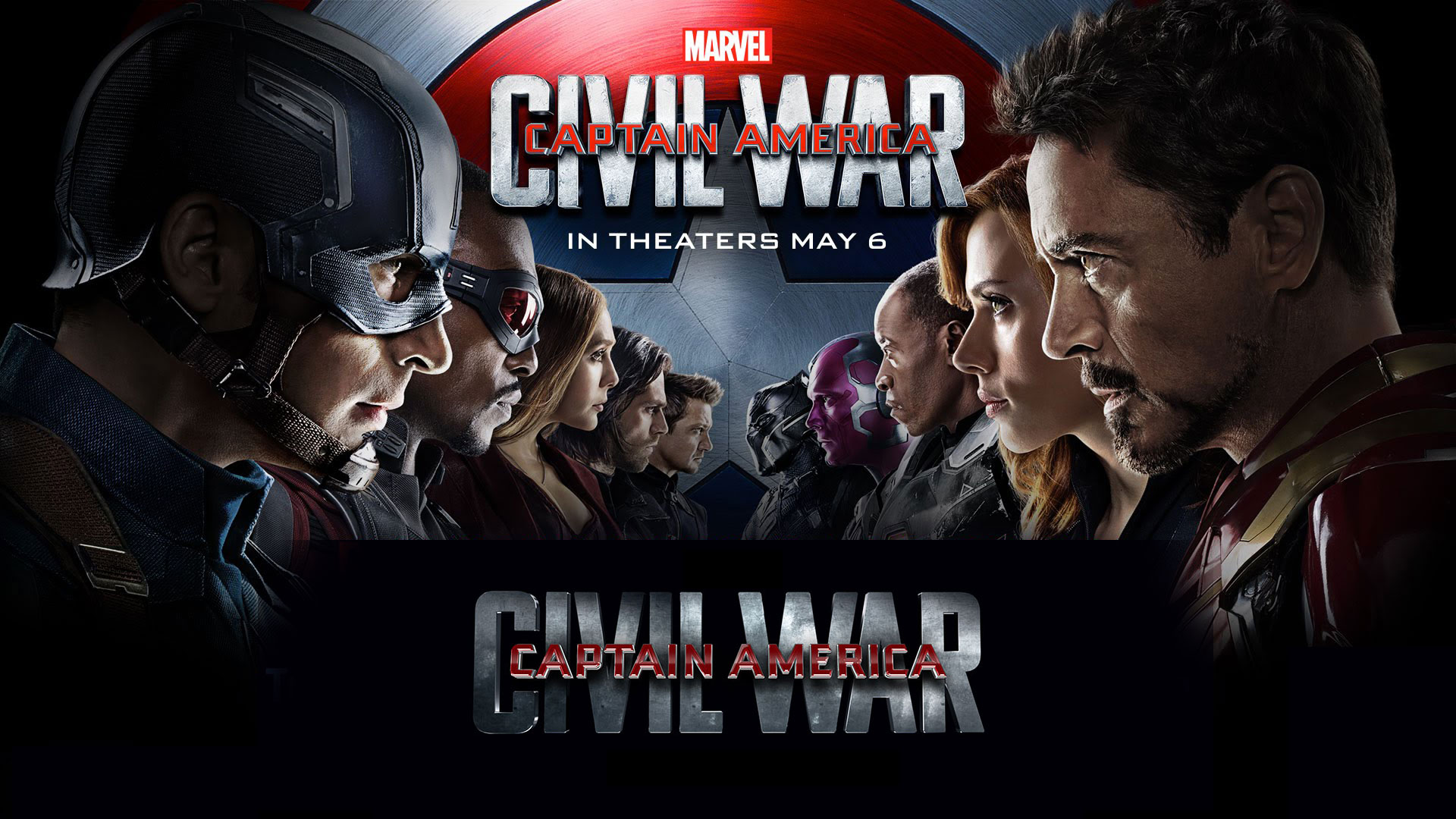 Captain America Civil War 2016 iPhone Desktop Wallpapers HD 1920x1080