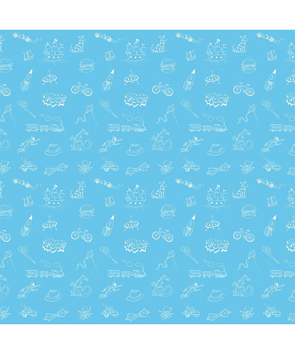 WallCandy Arts Doodle BlueBlack Removable Wallpaper Half Kit zulily 1000x1201