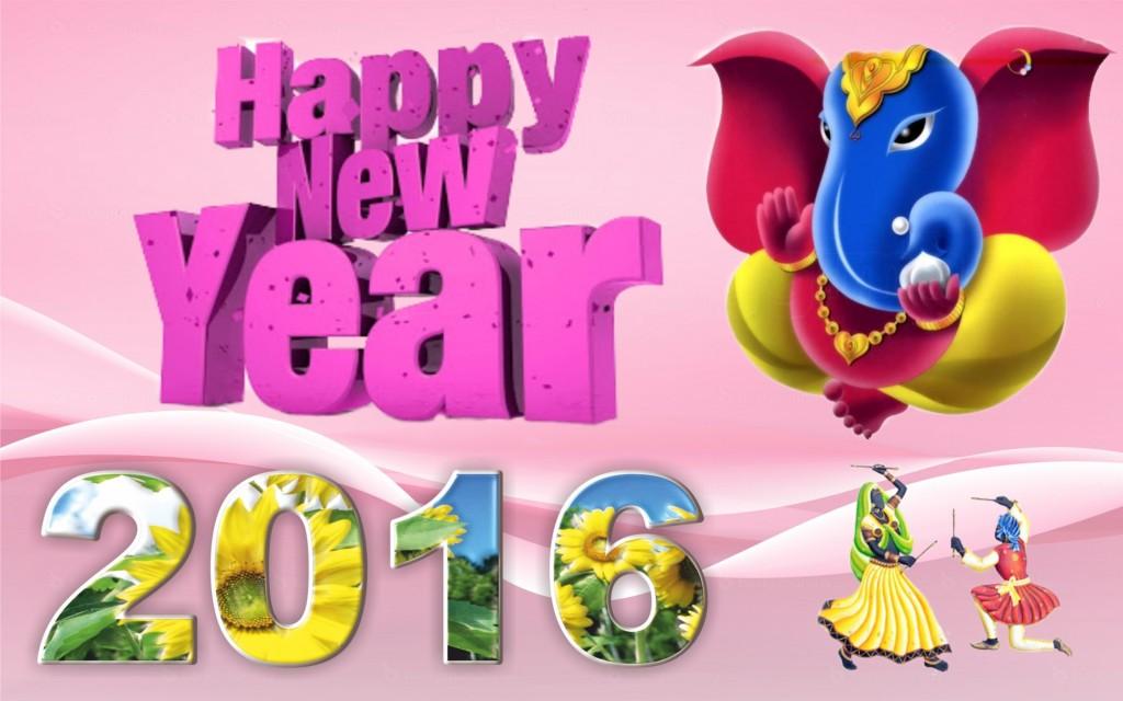 13871 Happy New Year 2016 Widescreen Wallpaper 28801800 1024x640