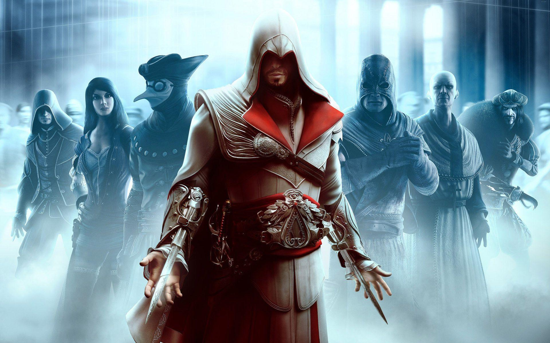 Assassins Creed Brotherhood Wallpapers 1920x1200