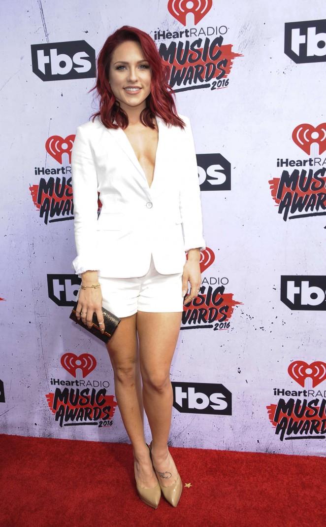 Sharna Burgess iHeartRadio Music Awards 2016  01   GotCeleb 662x1069