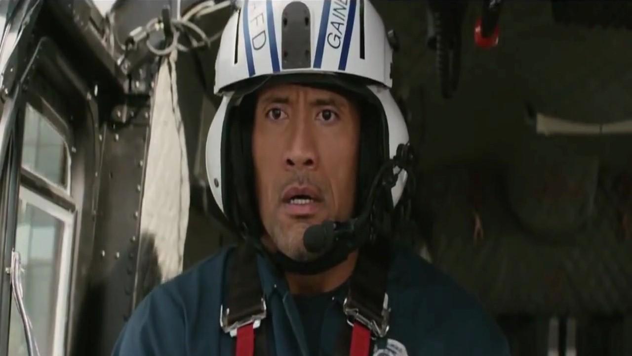 Latest English Hollywood Movie San Andreas Actor Dwayne Johnson 1280x720