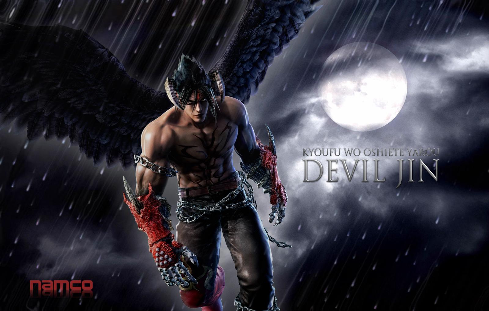Devil Jin Fan Art Wallpaper 1600x1020