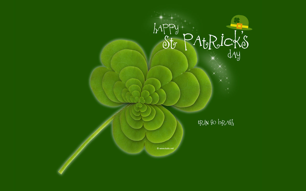 St. Patrick's Day Wallpapers by Kate.net