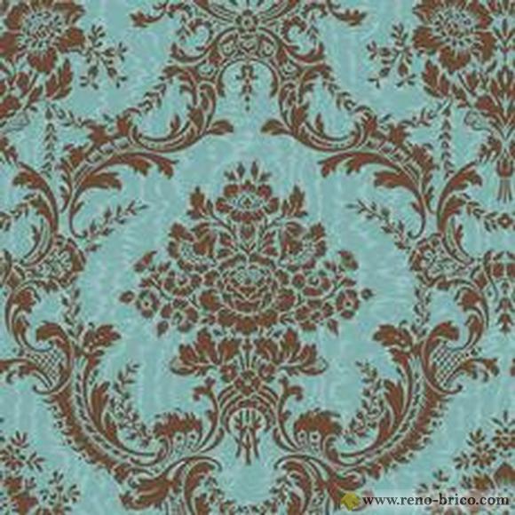 Papier peint motif Wallpaper Company Home Depot 580x580