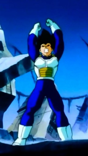 vegeta dragon ball z live wallpaper watch vegeta s hair and body 288x512