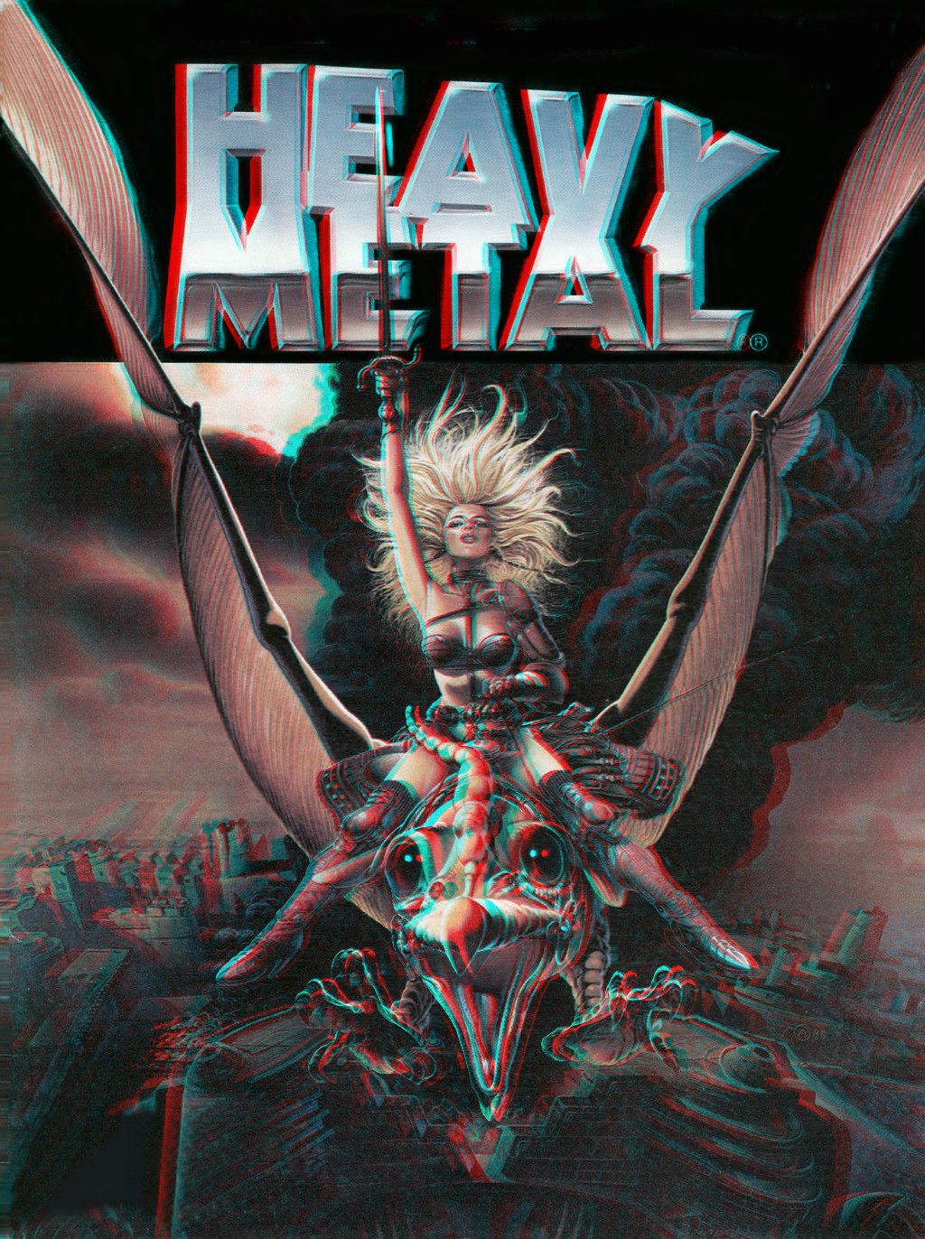 Heavy Metal cover 3 D conversion by MVRamsey 1024x1372