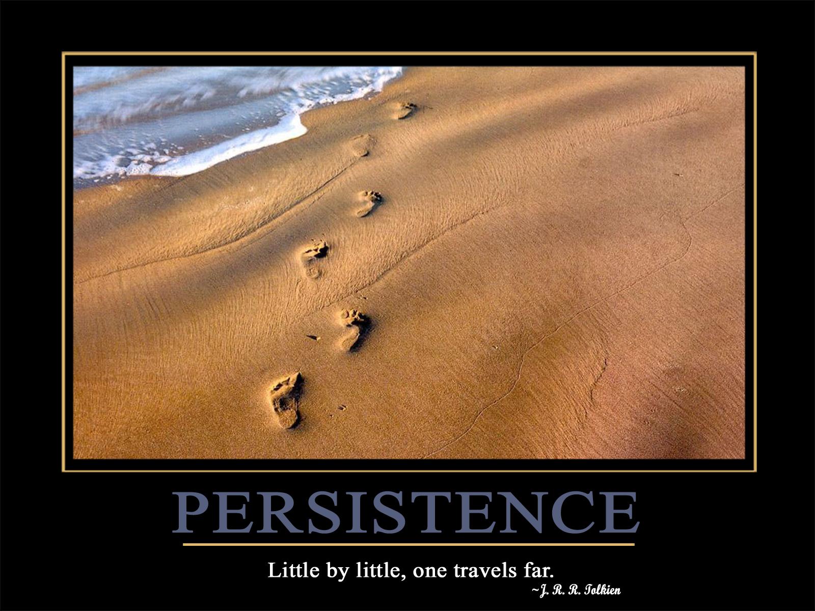 Motivational Wallpaper Persistence Goal Setting Guide 1600x1200