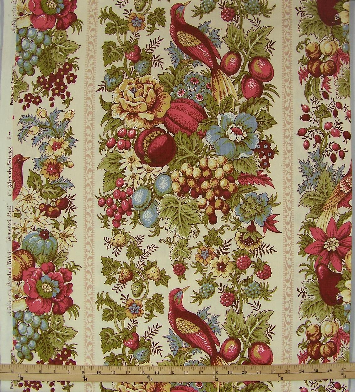49+ Waverly Sweet Violets Wallpaper Border on ...