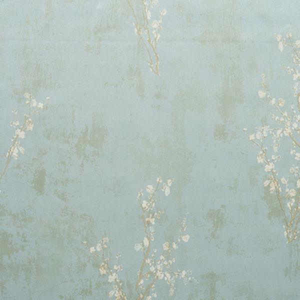 Blue and Brown Zen Wallpaper   Wall Sticker Outlet 600x600