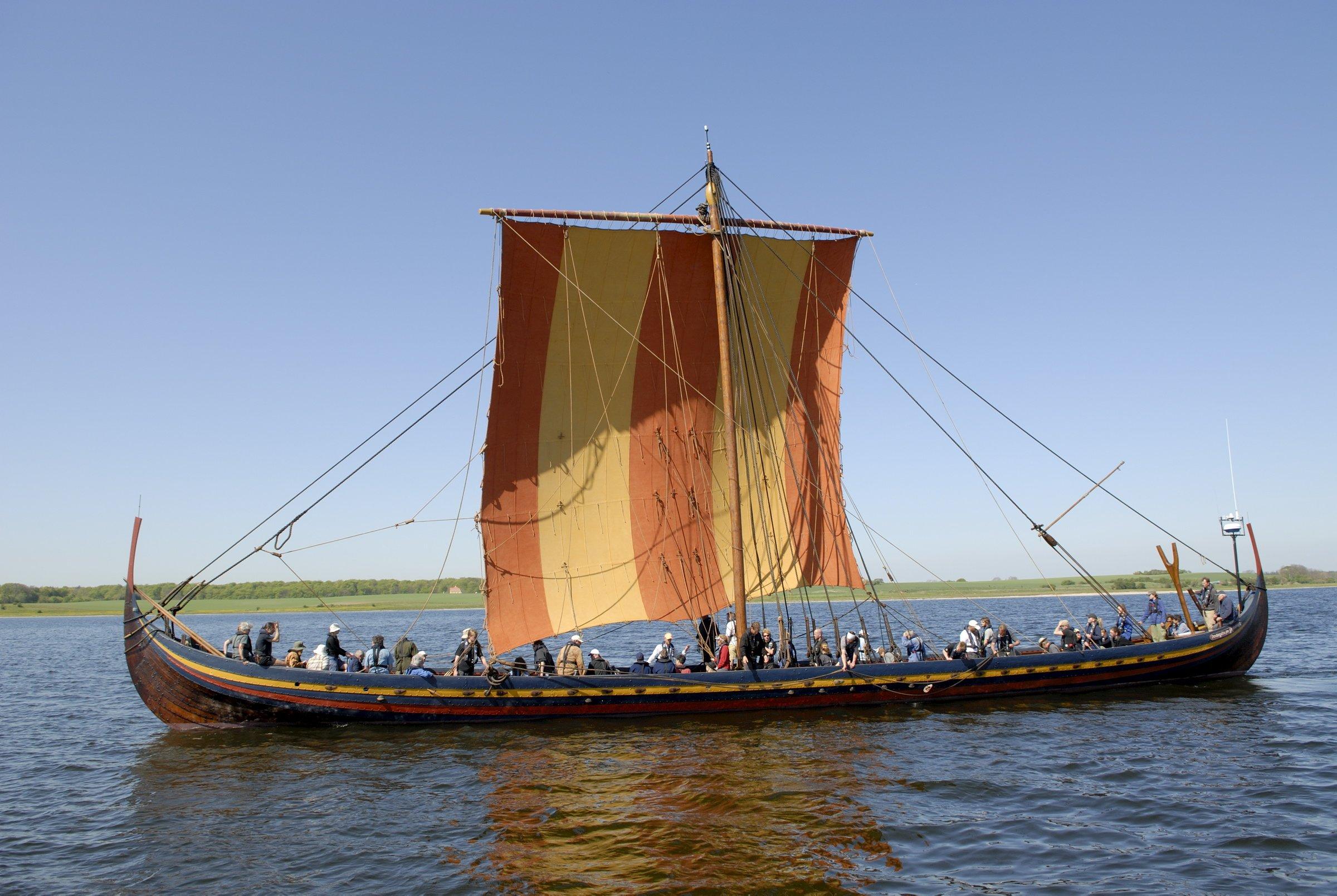 Viking voyage Photo courtesy of the Viking Ship Museum Roskilde 2400x1608