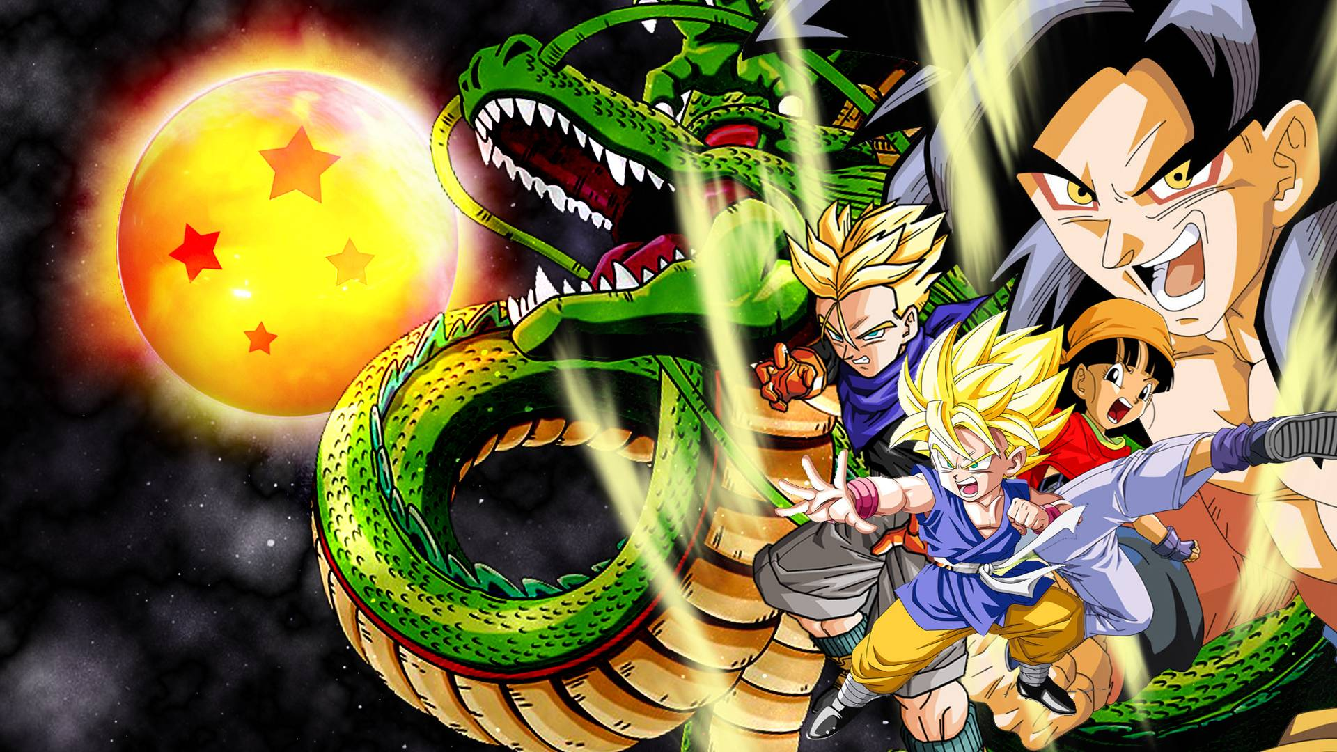 Dragon Ball GT HD Wallpapers 1920x1080