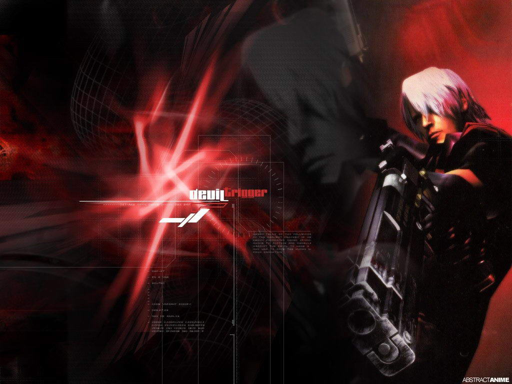 Free Download Wallpapers Devil May Cry Anime 1024x768 For Your