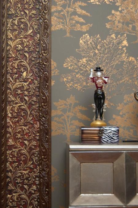 Paintable Wallpaper To Cover Paneling Wallpapersafari