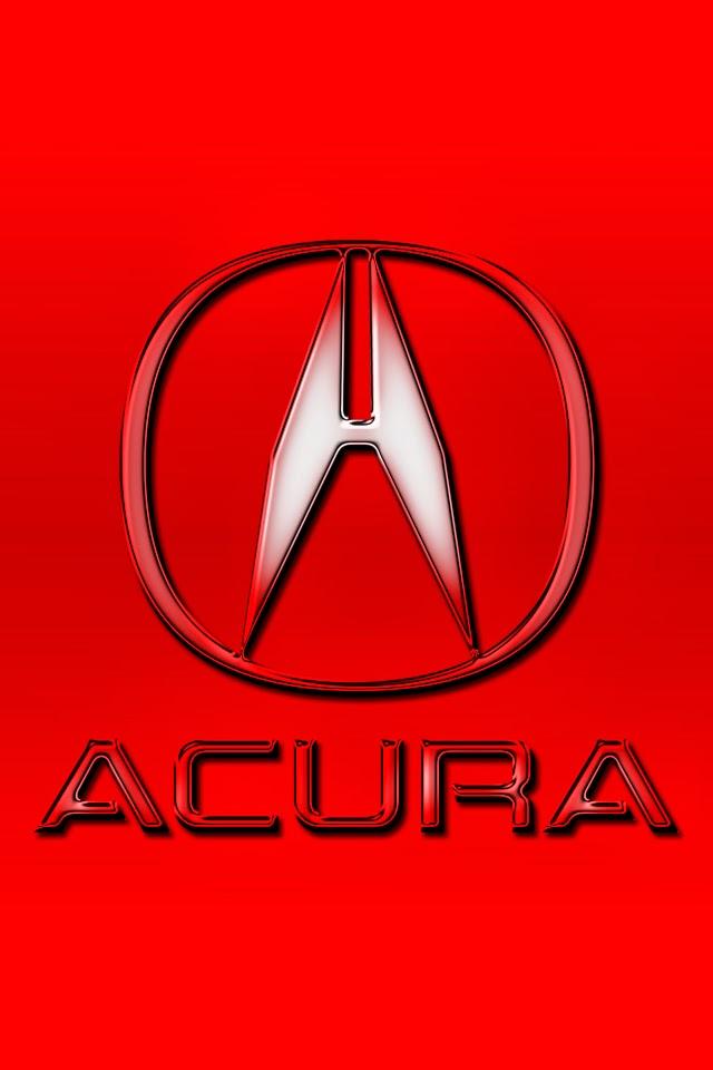 Acura Logo iPhone Wallpaper iPhone Wallpaper 640x960