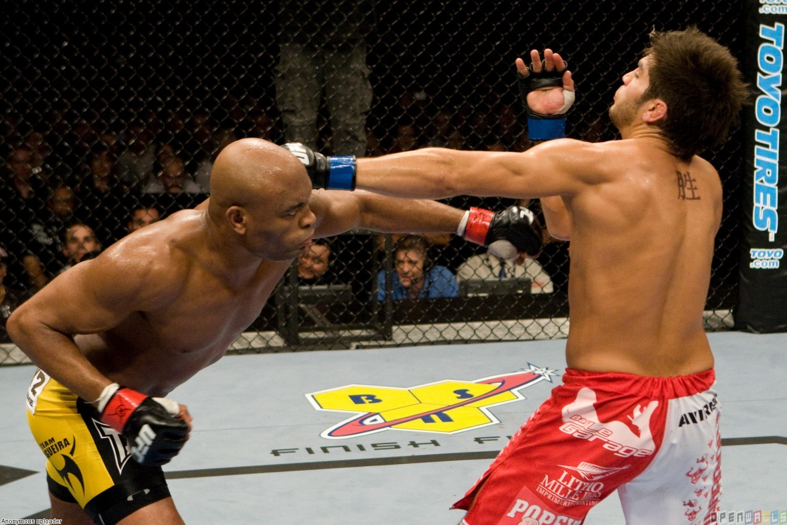 Ufc 90 anderson silva vs patrick cote wallpaper 4382   Open Walls 1536x1024