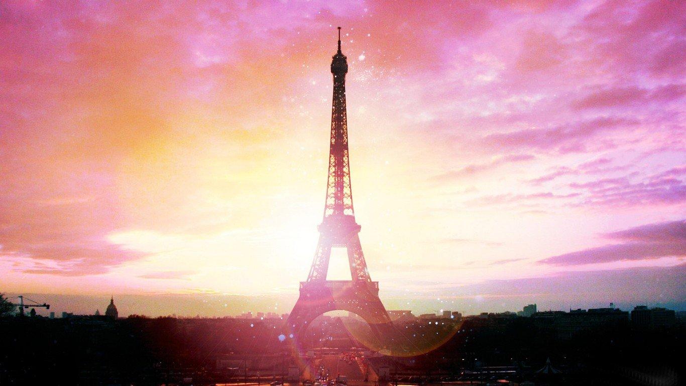 Wallpaper Love Paris Hd : Pink Paris Wallpaper - WallpaperSafari