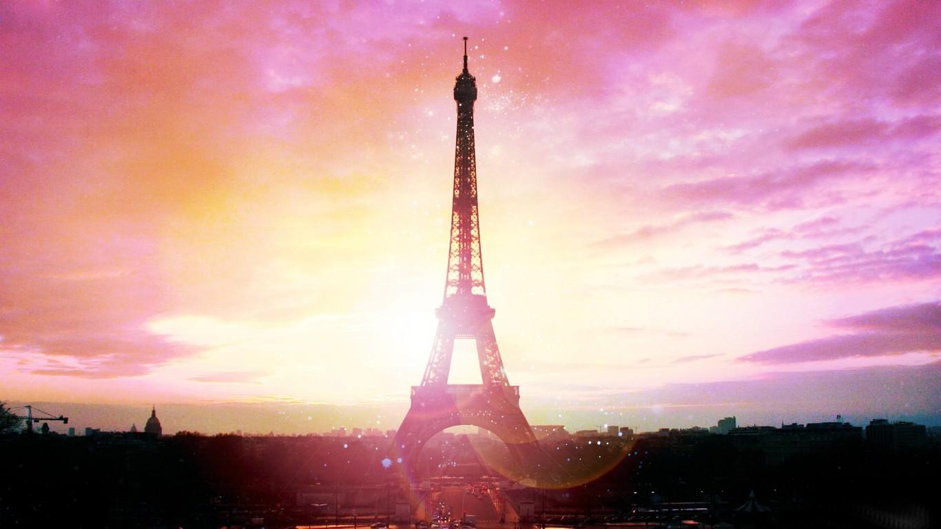 [46+] Pink Paris Wallpaper On WallpaperSafari