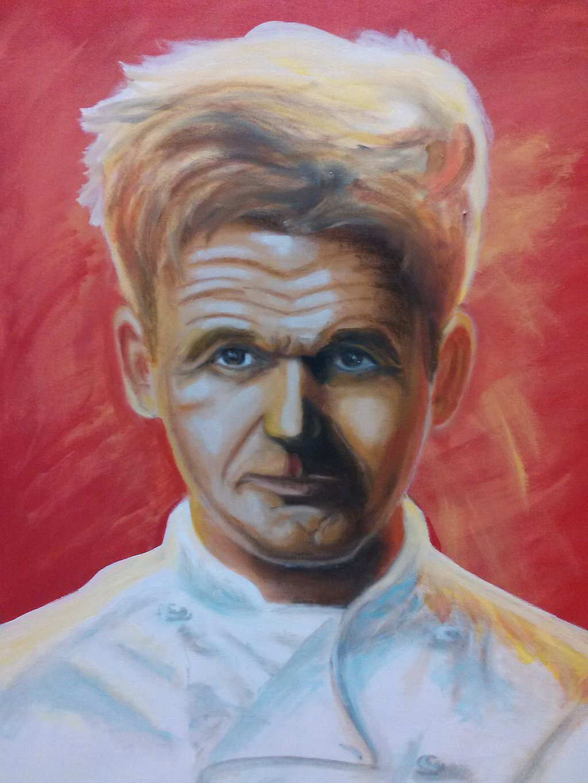 Gordon Ramsay by LopezGdlp 1024x1365