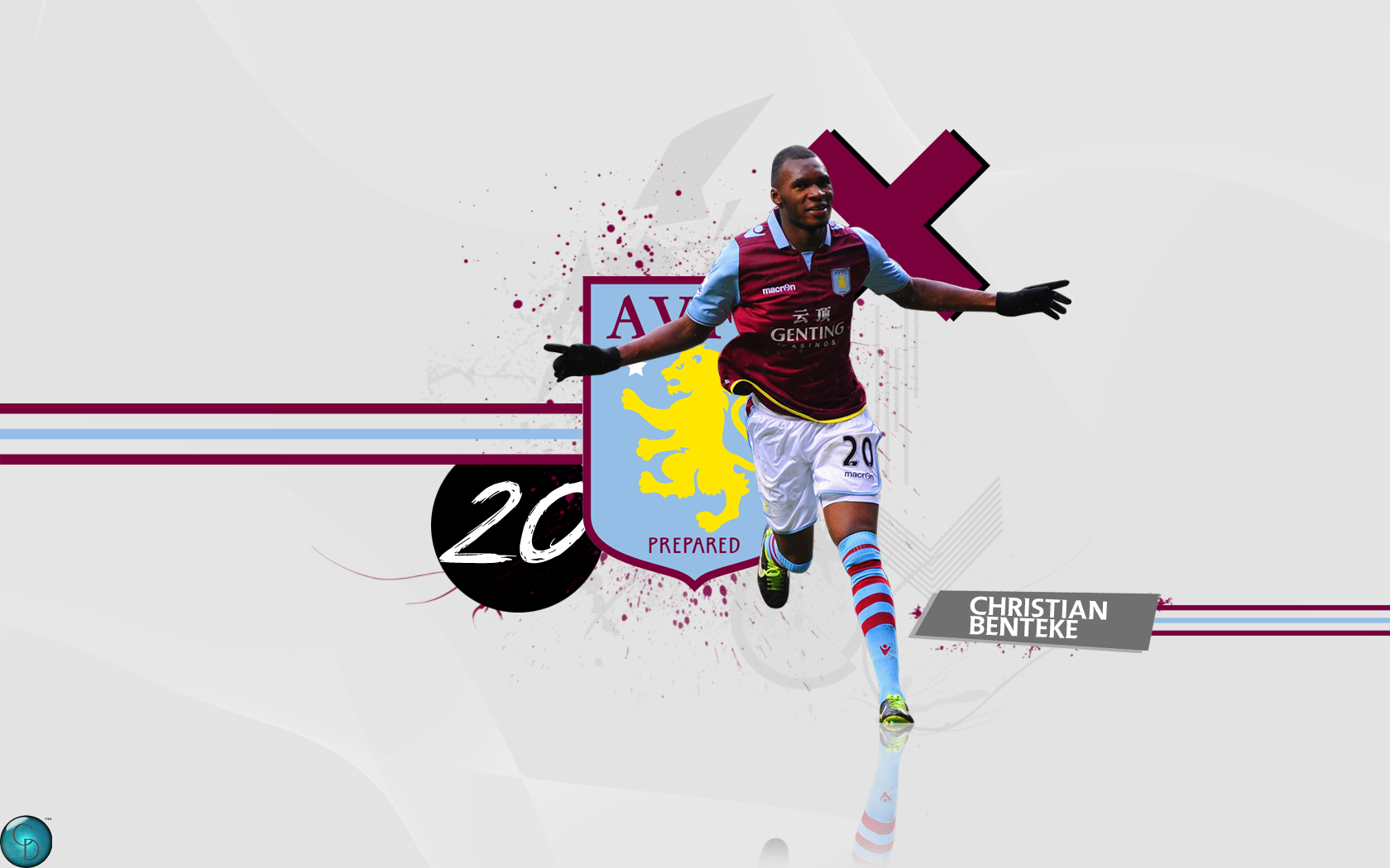 Christian Benteke Football Wallpaper Backgrounds and Picture 1680x1050