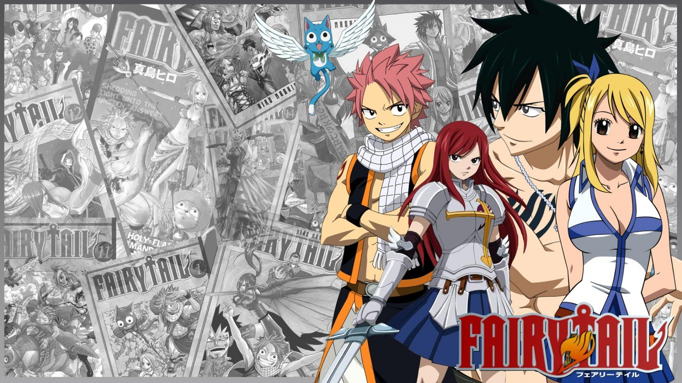 Fairy Tail moments
