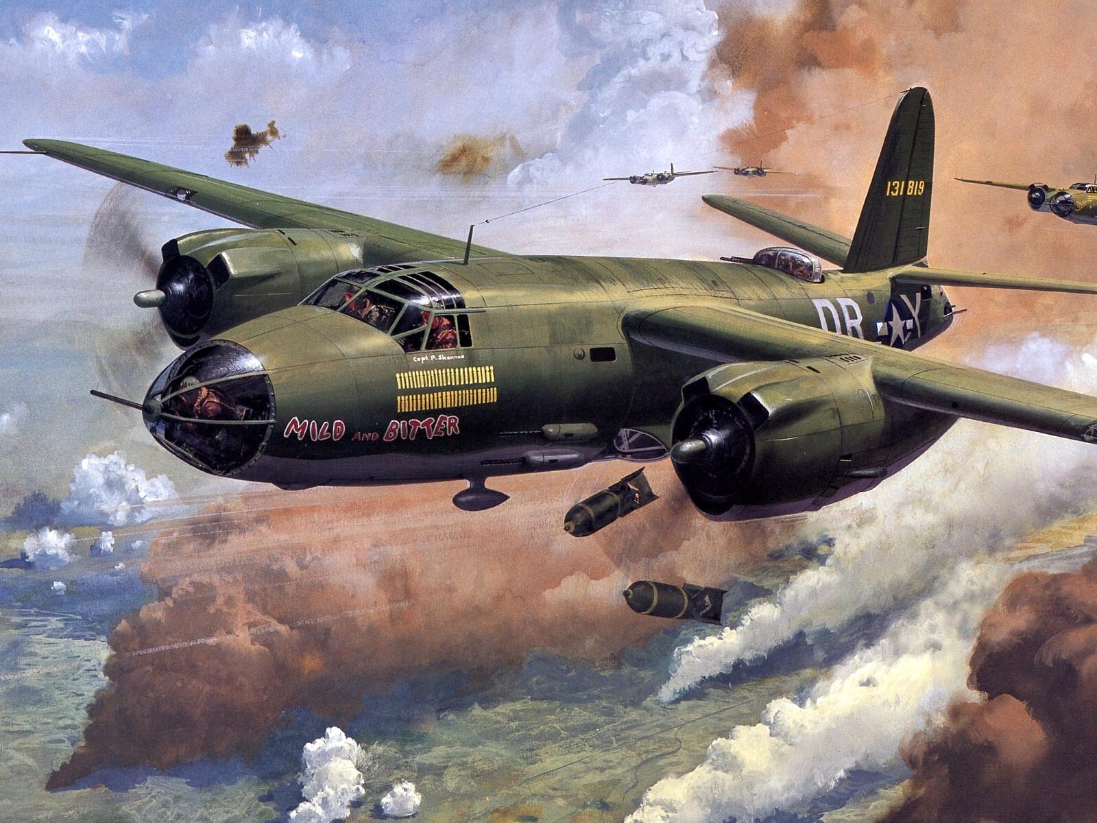 Aircrafts Bomber Wallpaper 1600x1200 Aircrafts Bomber Aviation B26 1600x1200