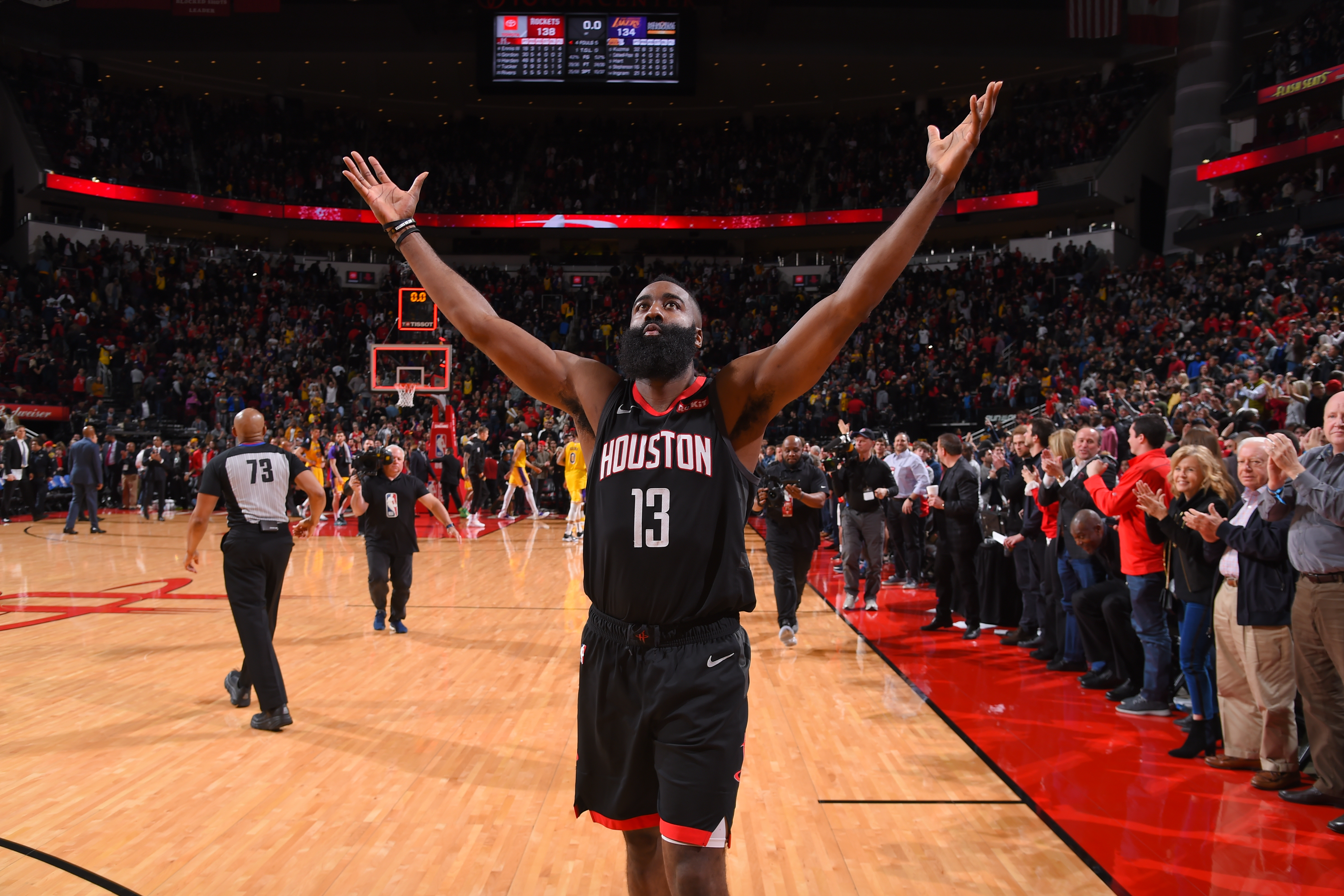 James Harden Named Western Conference Player of the Week Houston 4878x3252