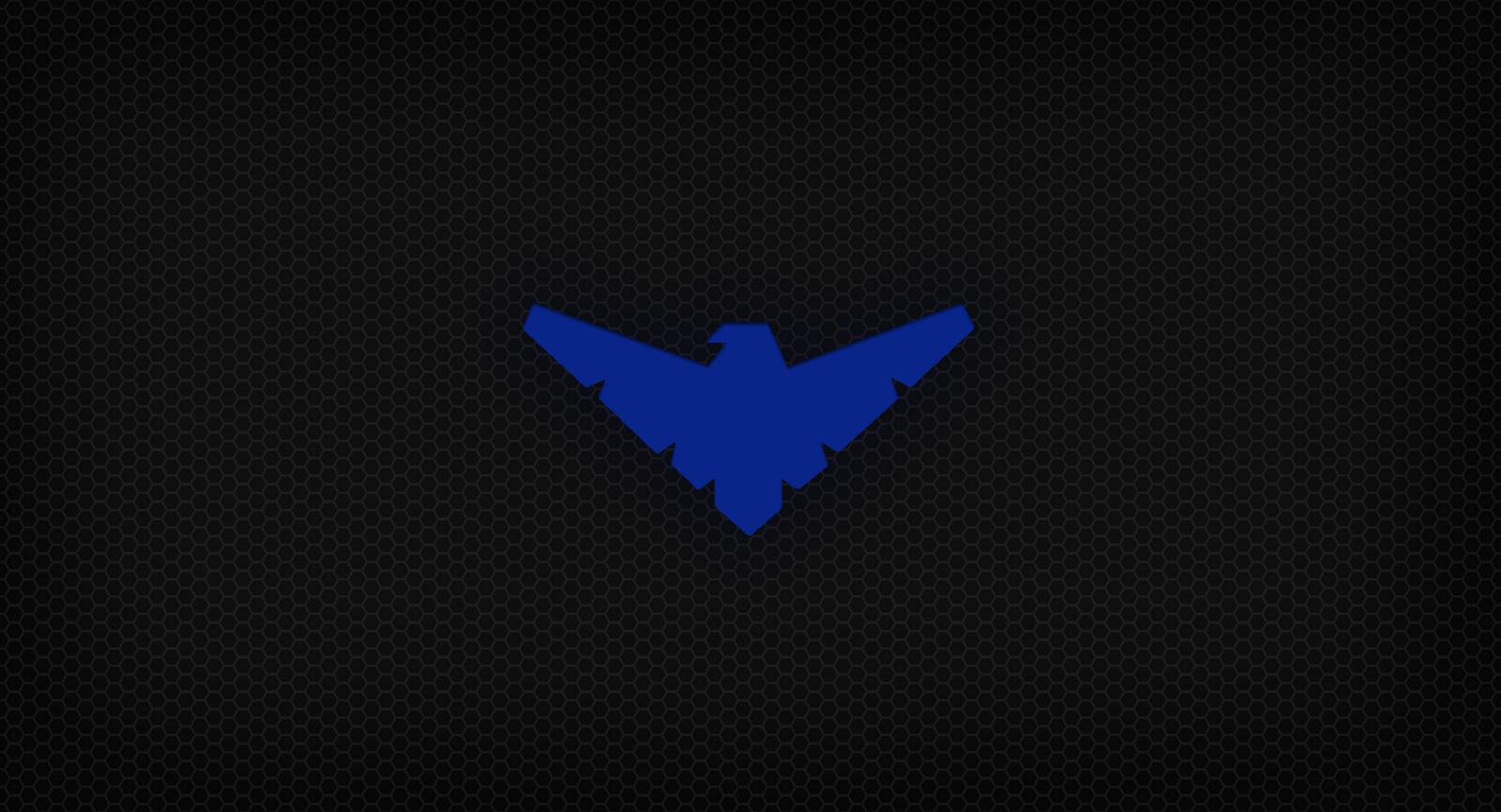 Nightwing Logo Wallpaper - WallpaperSafari
