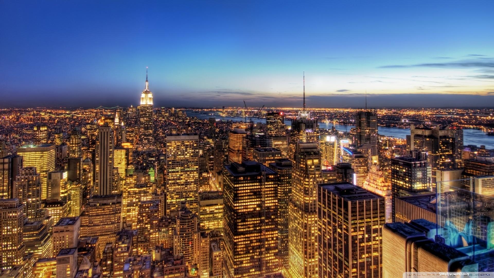 Wallpapers And Screensavers NY Skyline