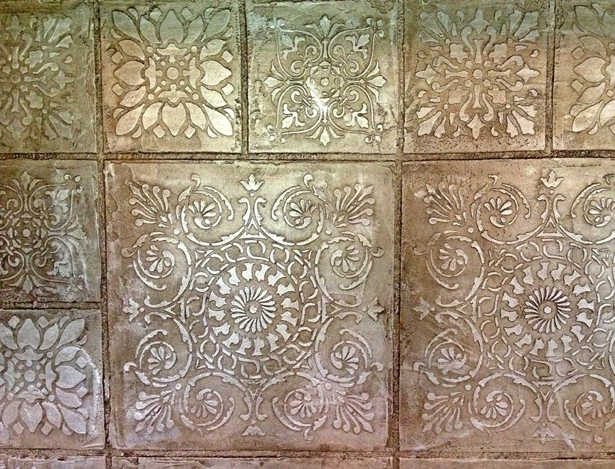 Tin tile wallpaper wallpapersafari - American tin tiles wallpaper ...