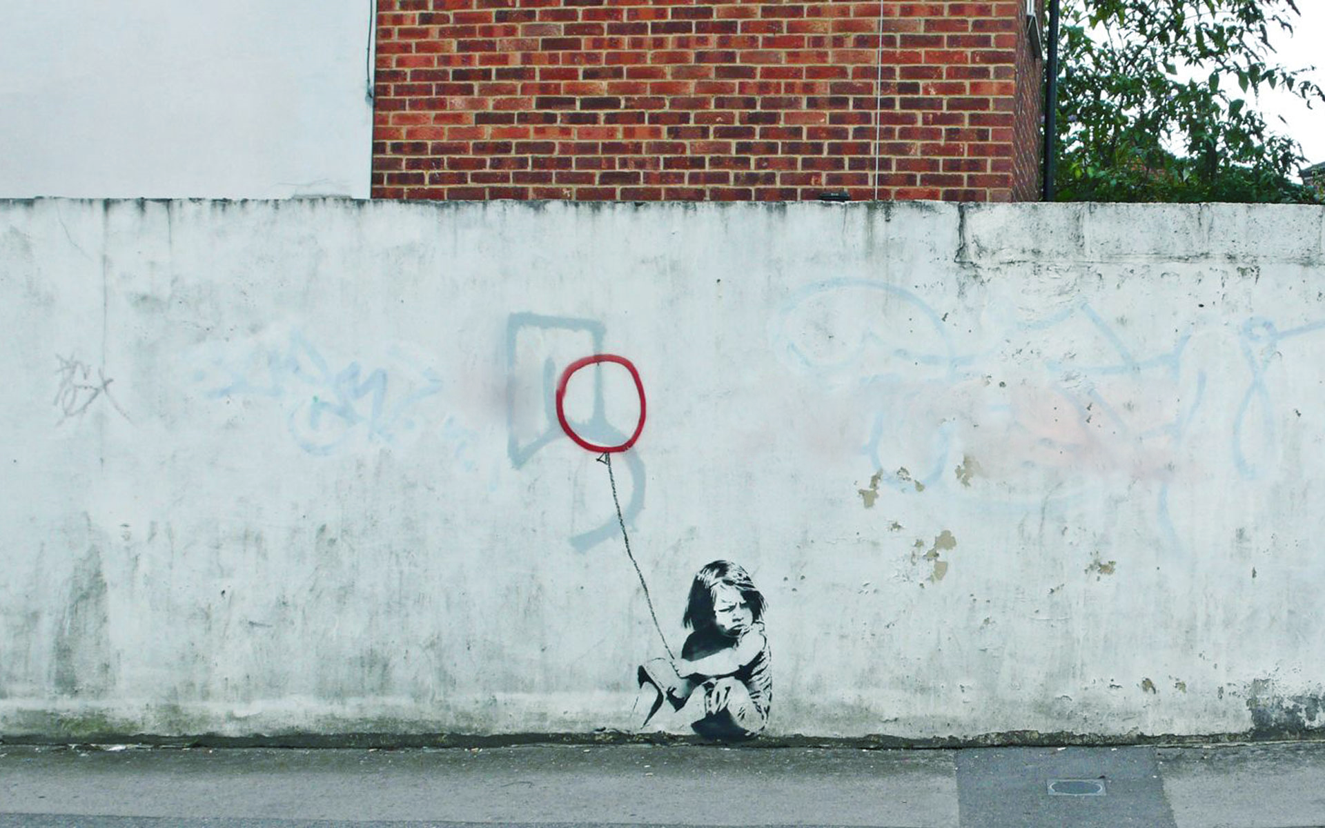 wall graffiti urban banksy street art HD Wallpaper   Art Fantasy 1920x1200