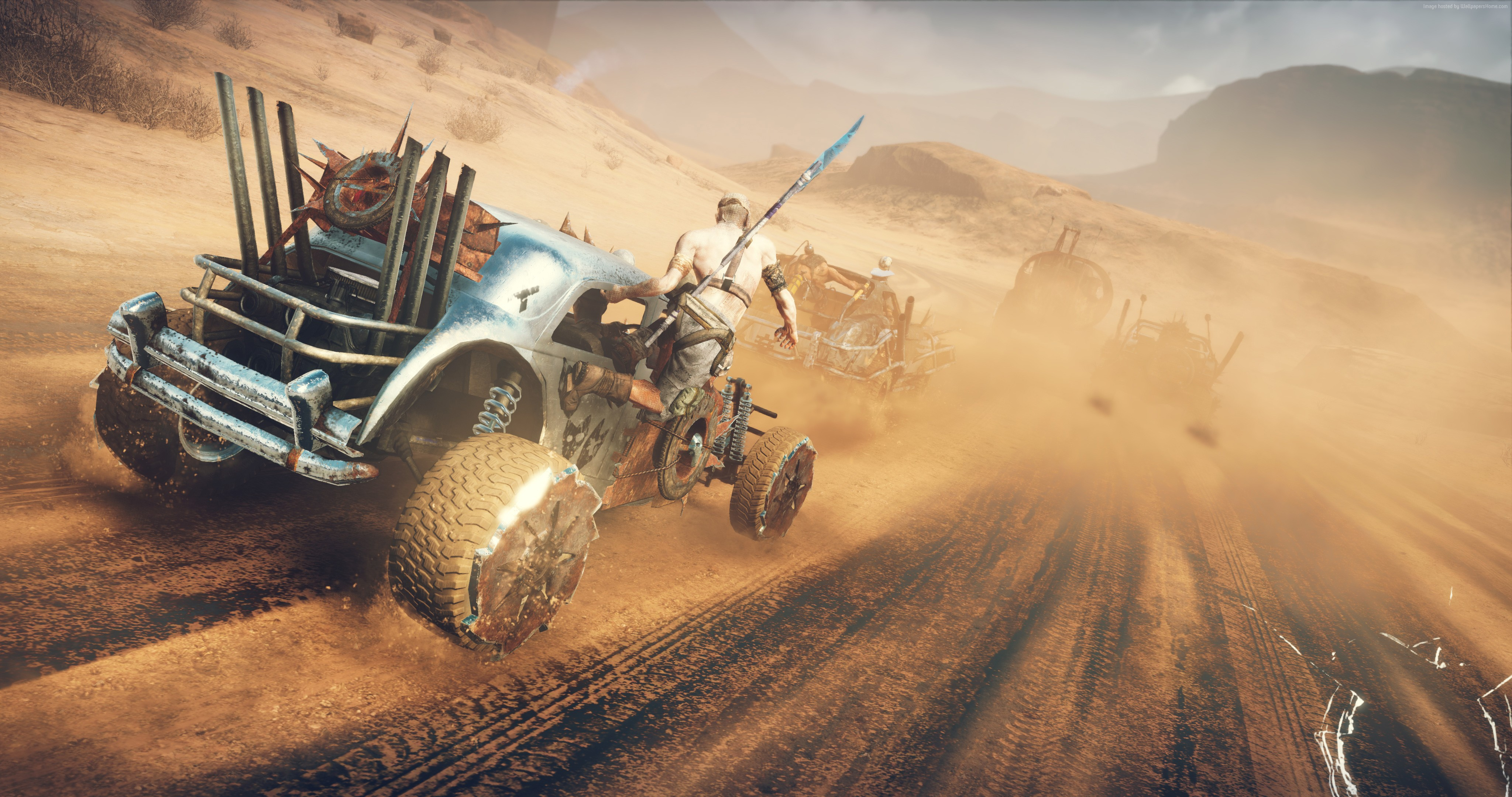 Mad Max Game Wallpaper HD Widescreen Backgrounds 4096x2160